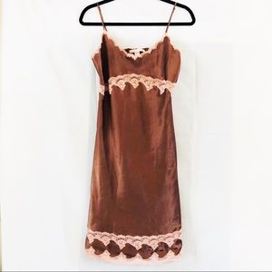 Victoria's Secret satin feel nightgown size M